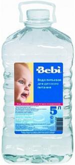 Bebi Вода детская 5 л